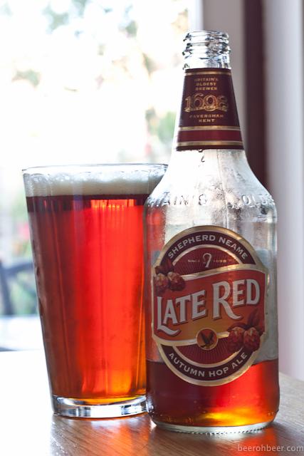Shepherd Neame - Late Red