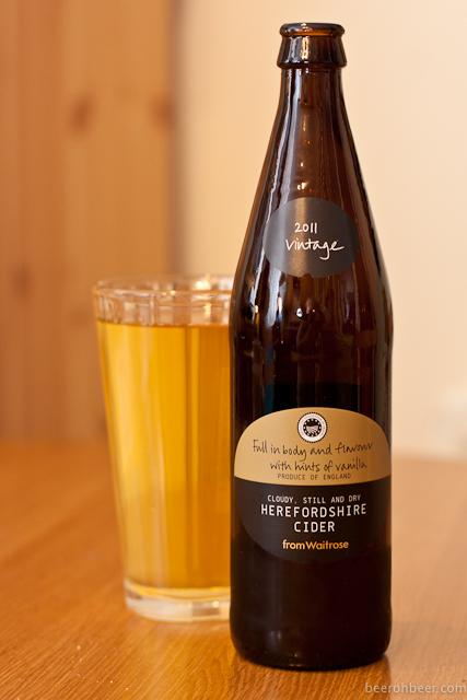Herefordshire Cider (Waitrose)