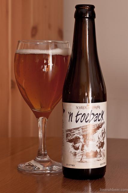Schelde Brouwerij - 'n Toeback
