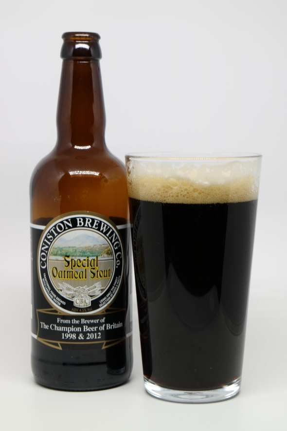 Coniston Brewery - Special Oatmeal Stout